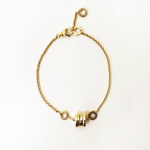 Bulgari 18K Yellow Gold Bracelet B.Zero1