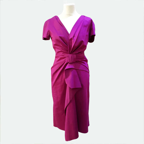 Catherine Malandrino Pink Knot Dress