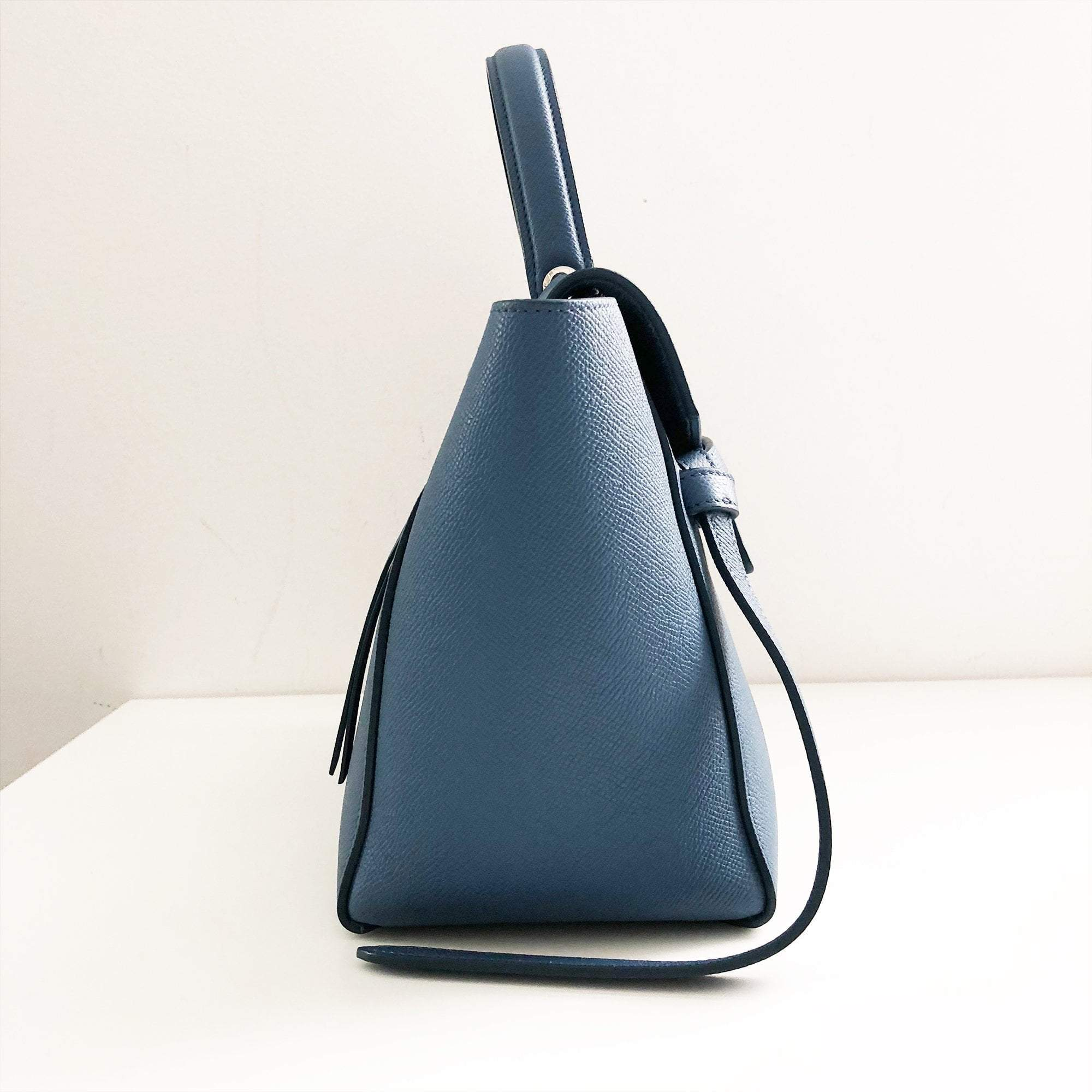Celine Micro Belt Bag In Grained Calfskin