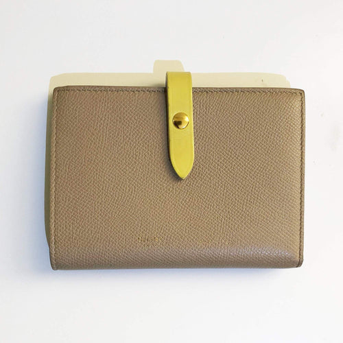 Céline Strap Accordeon Cardholder