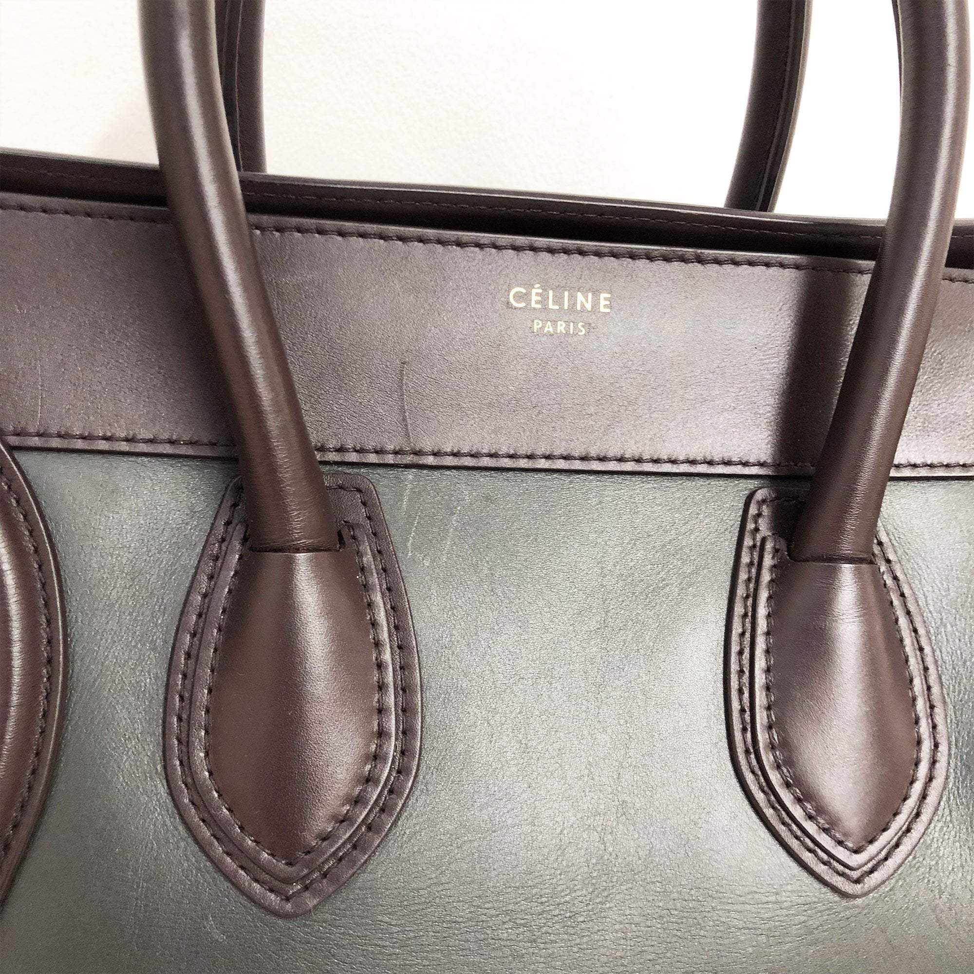 Celine luggagge  Tri Color  bag
