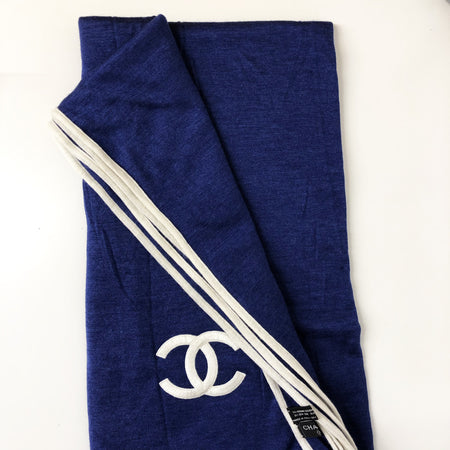 Chanel Large Cashmere CC Scarf