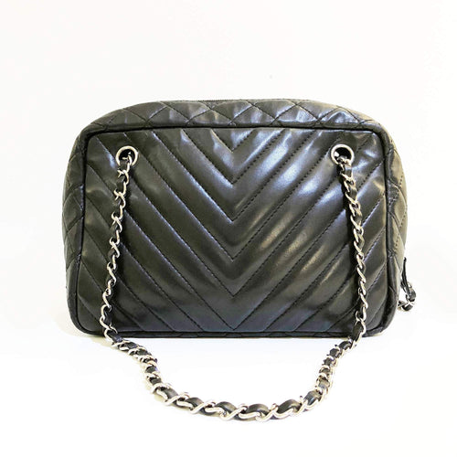 Chanel Chevron Camera Bag