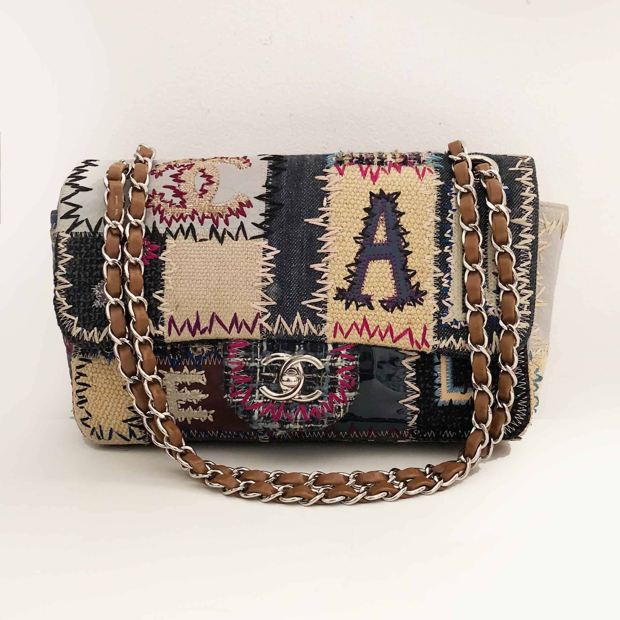 Chanel Jumbo Flap Bag Limited Edition Patchwork