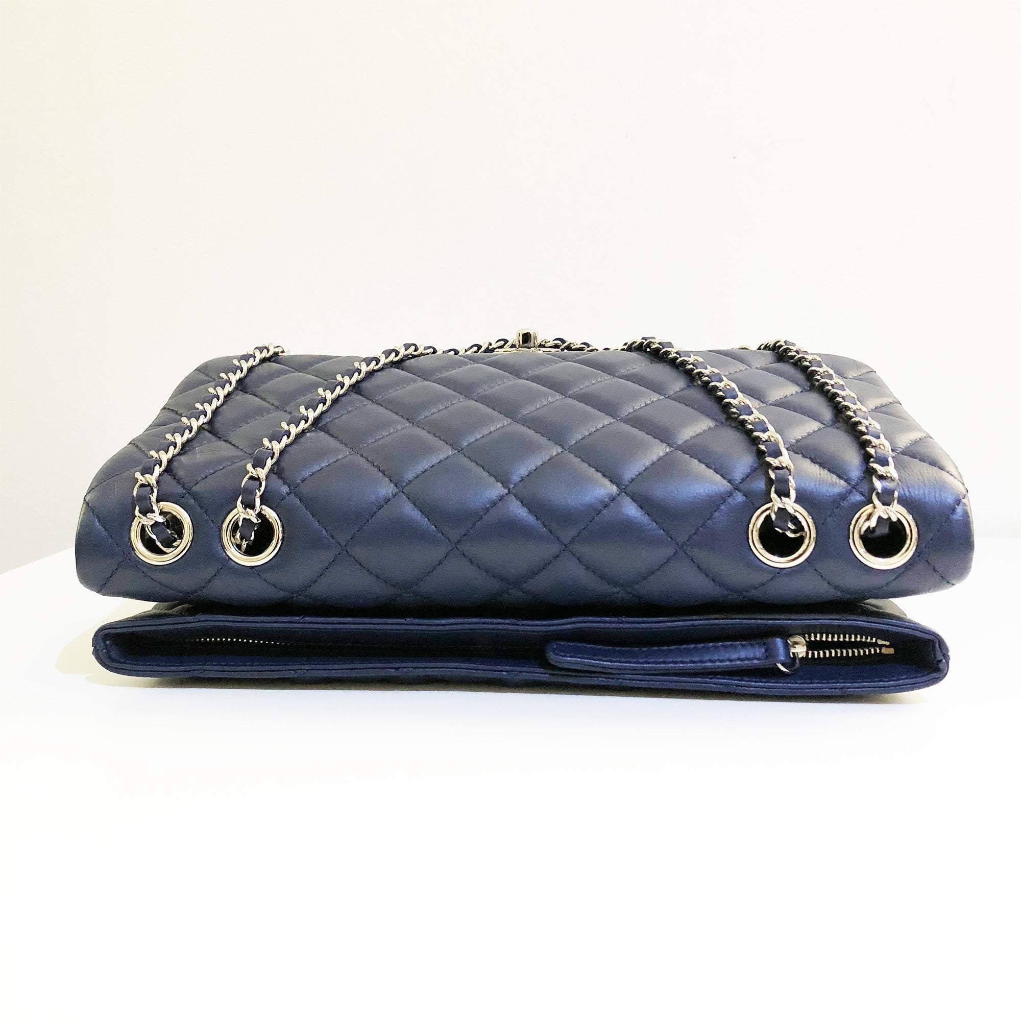 Chanel Medium Blue 3 Bag