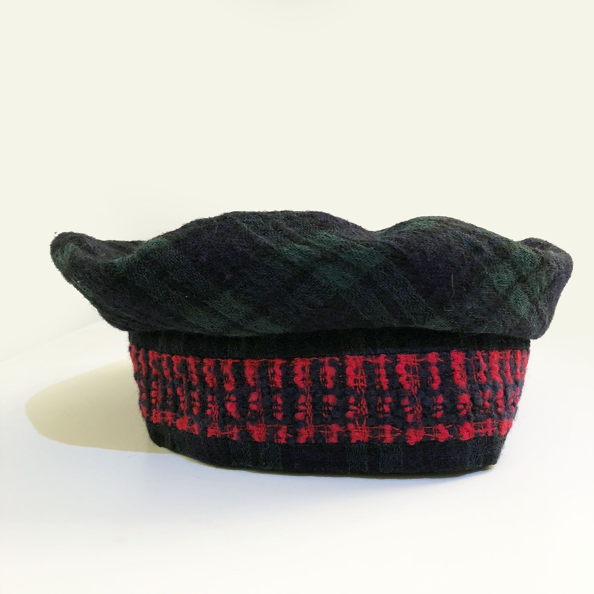 Chanel Vintage Style Wool Beret