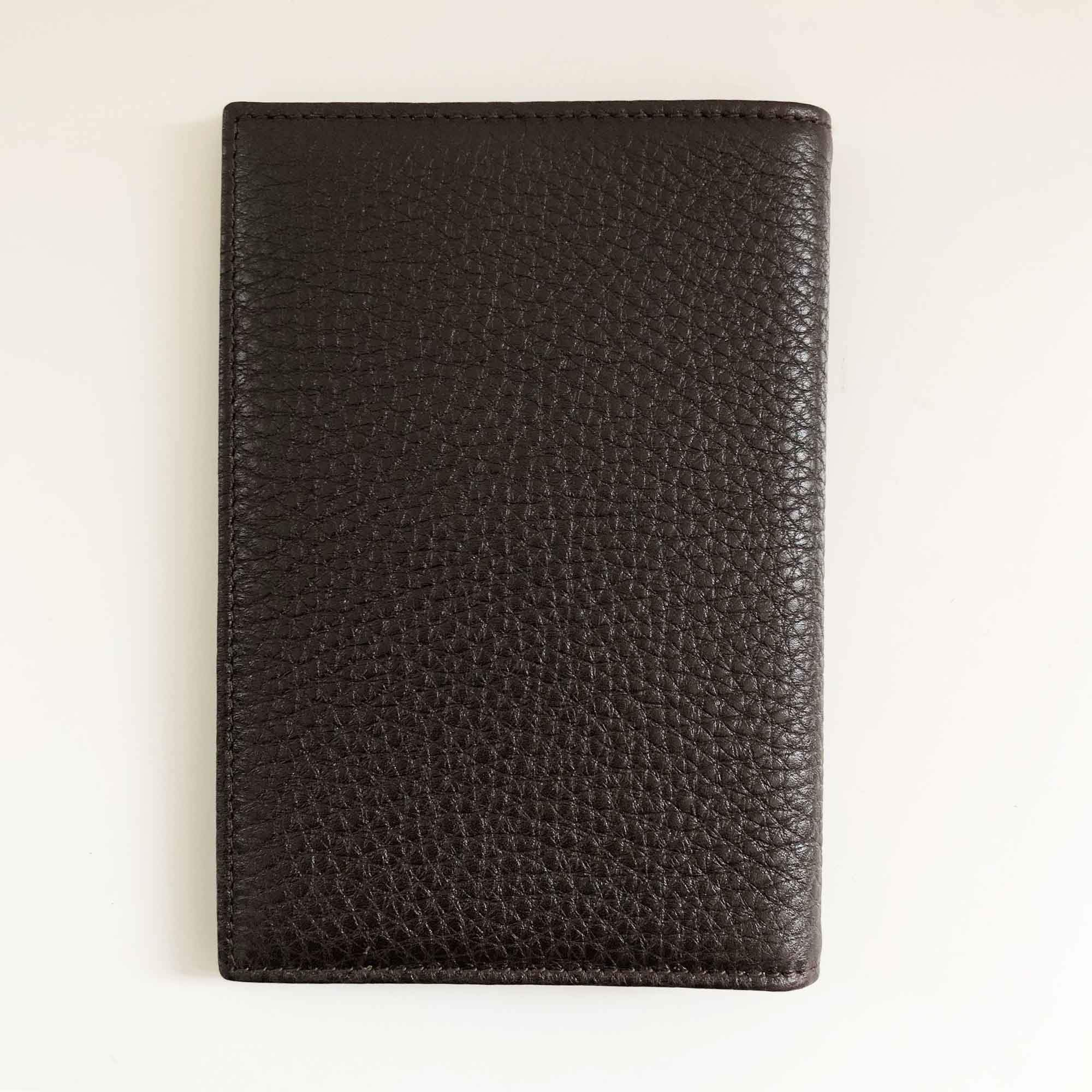 Chopard Brown Textured Leather Wallet