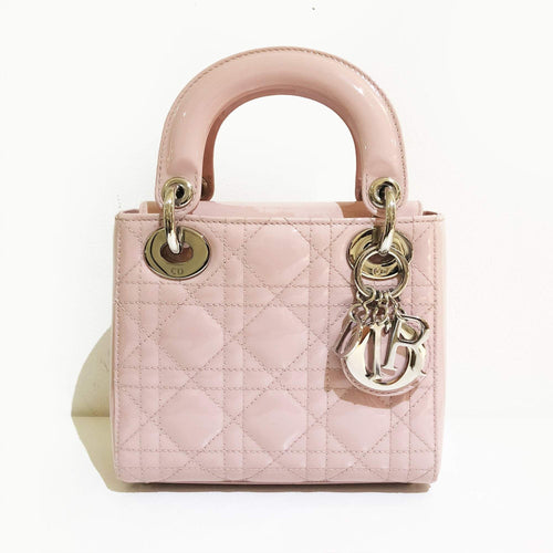 Christian Dior Pink Blush Mini Lady Dior Bag
