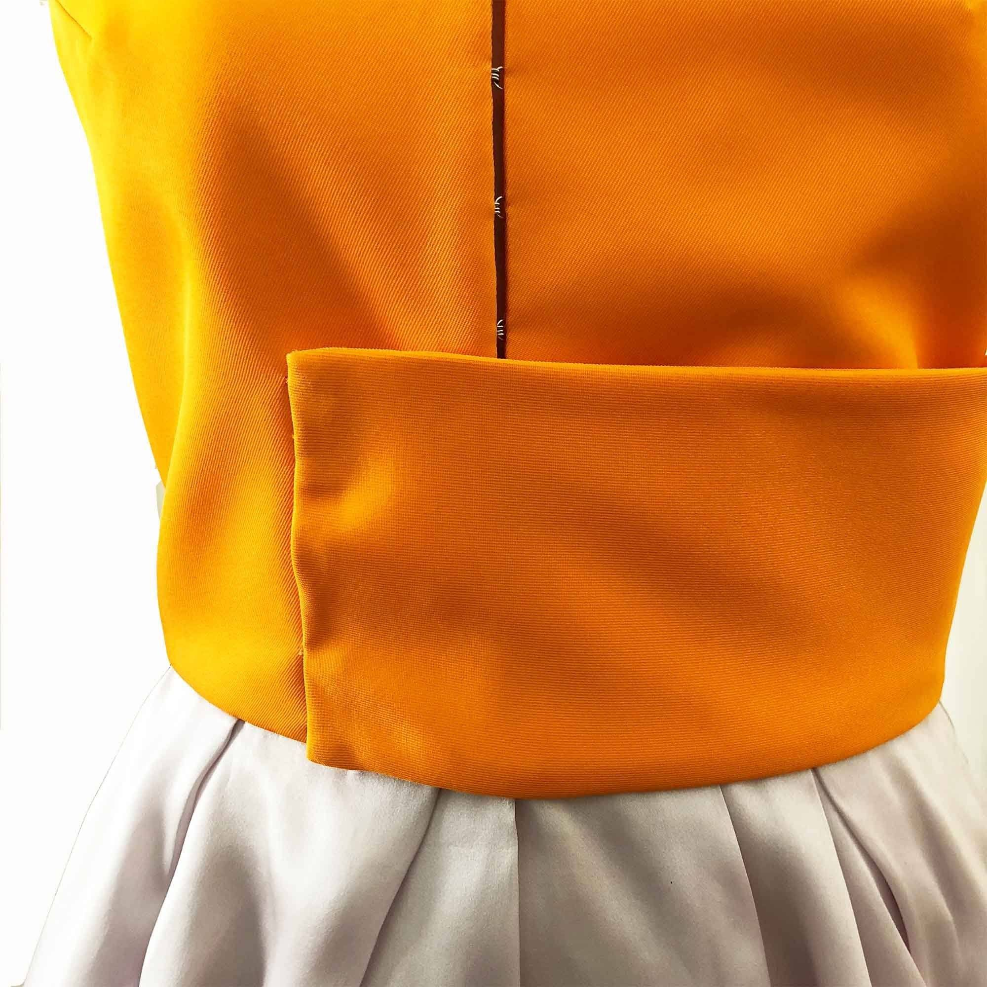 Christian Dior Color Block Dress 2014