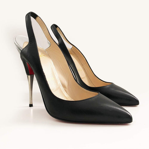 Christian Louboutin Slingback Pointed Toe Pumps