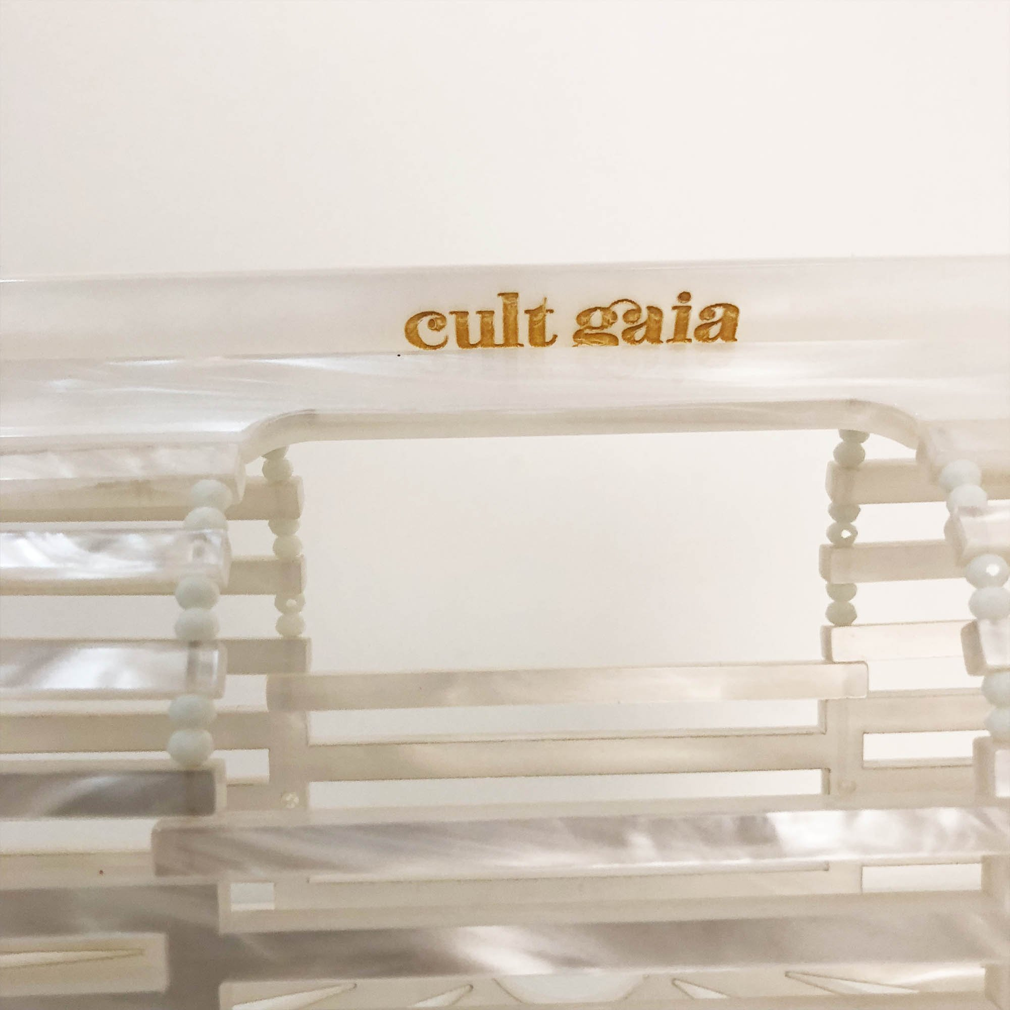 Cult Gaia Acrylic Ark - Mother of Pearl (Mini)
