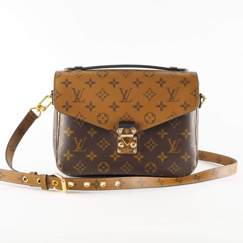 14f58ade67a Louis Vuitton Monogram Reverse Canvas Pochette Metis