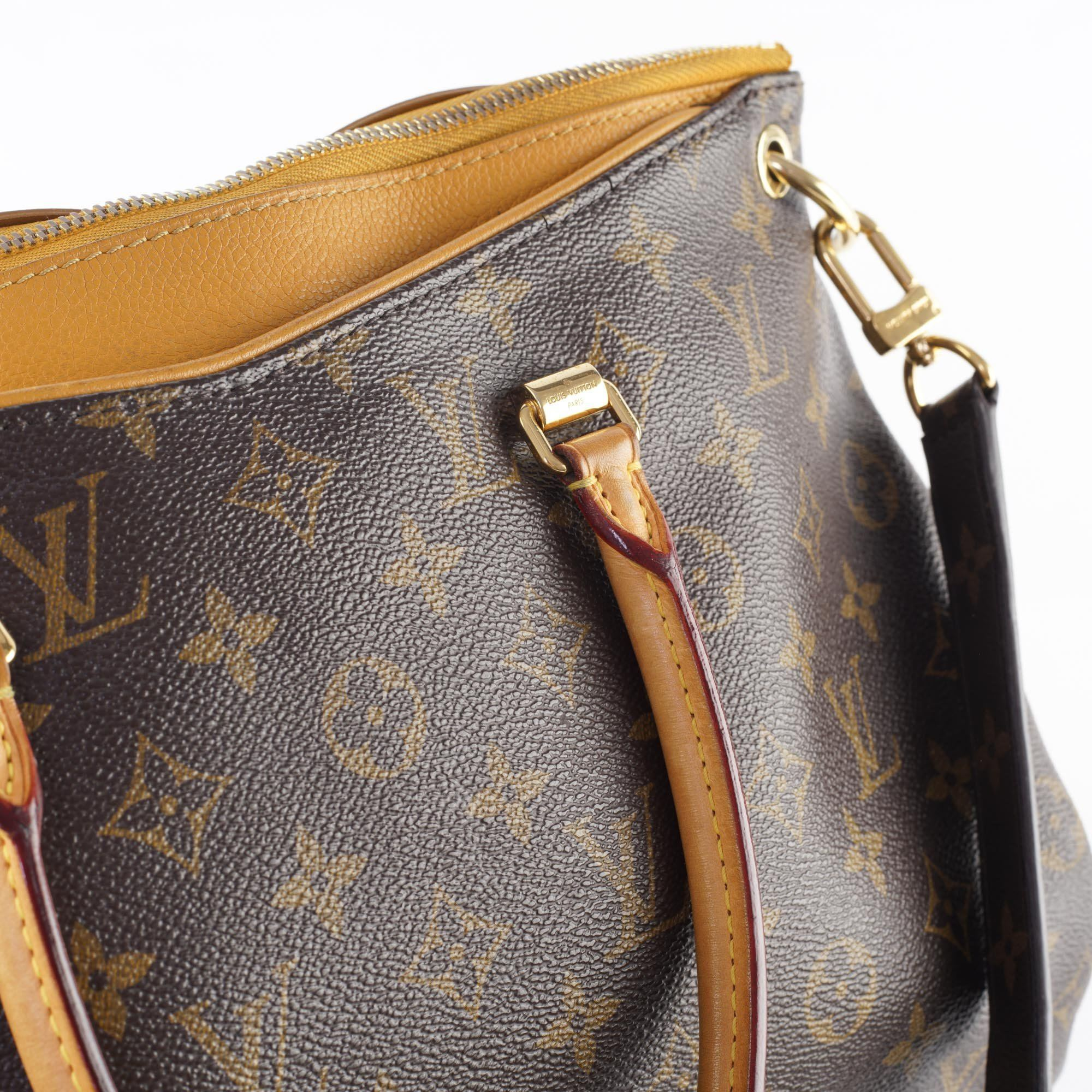 Louis Vuitton Safran Monogram Canvas Pallas Bag