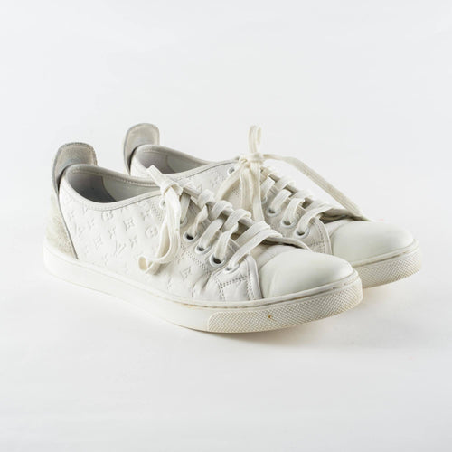 Louis Vuitton White Punchy Sneakers