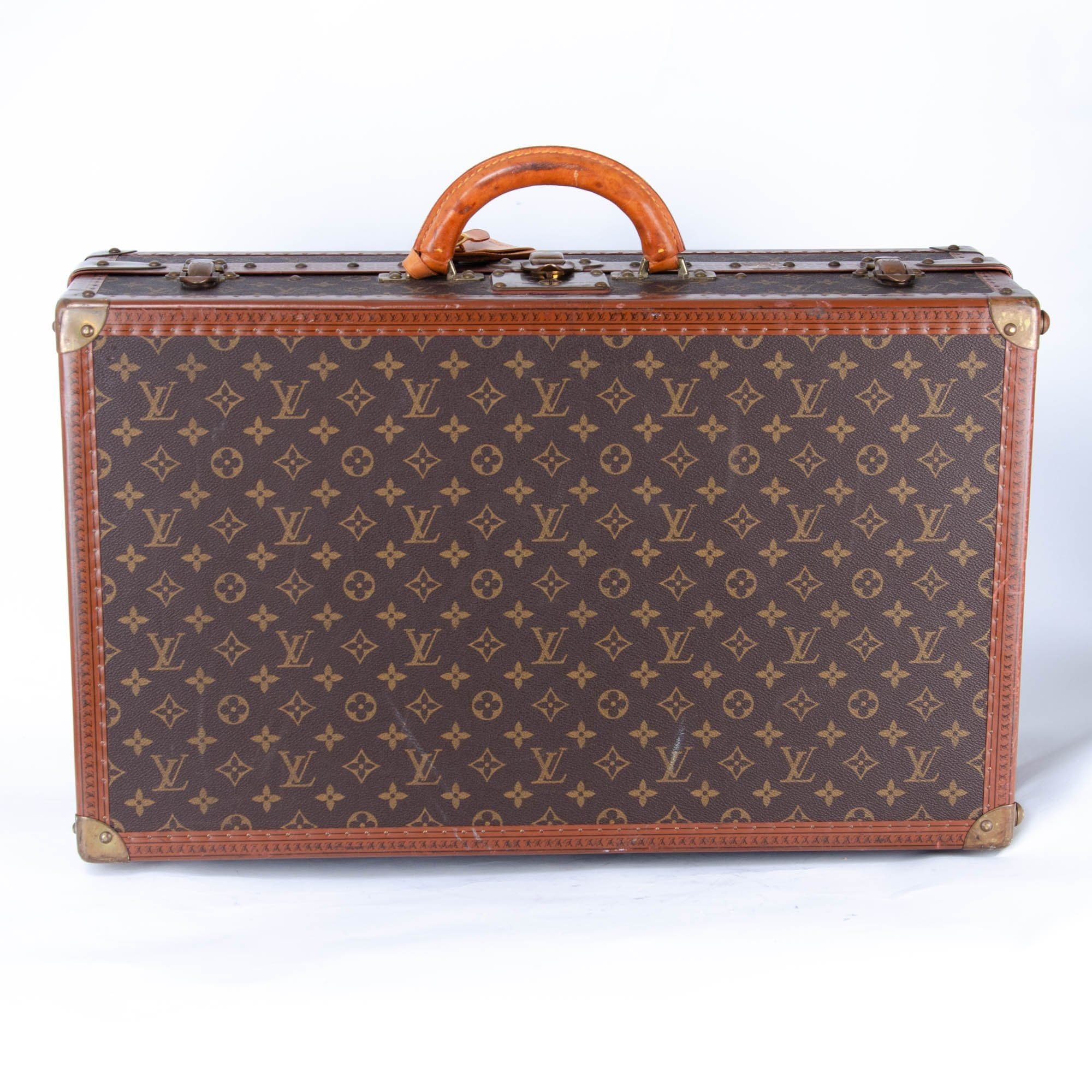 Louis Vuitton Brown Monogram Gemine 8 Pairs Shoe Trunk