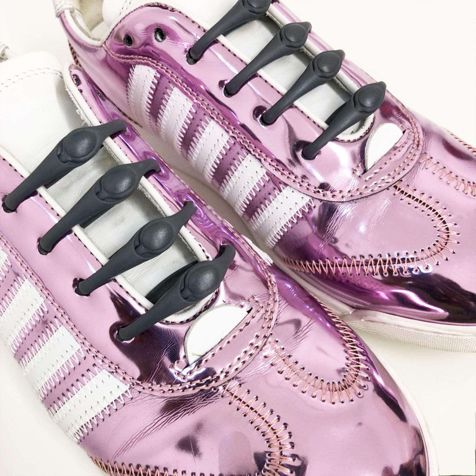 DSquared Purple Metallic Sneakers