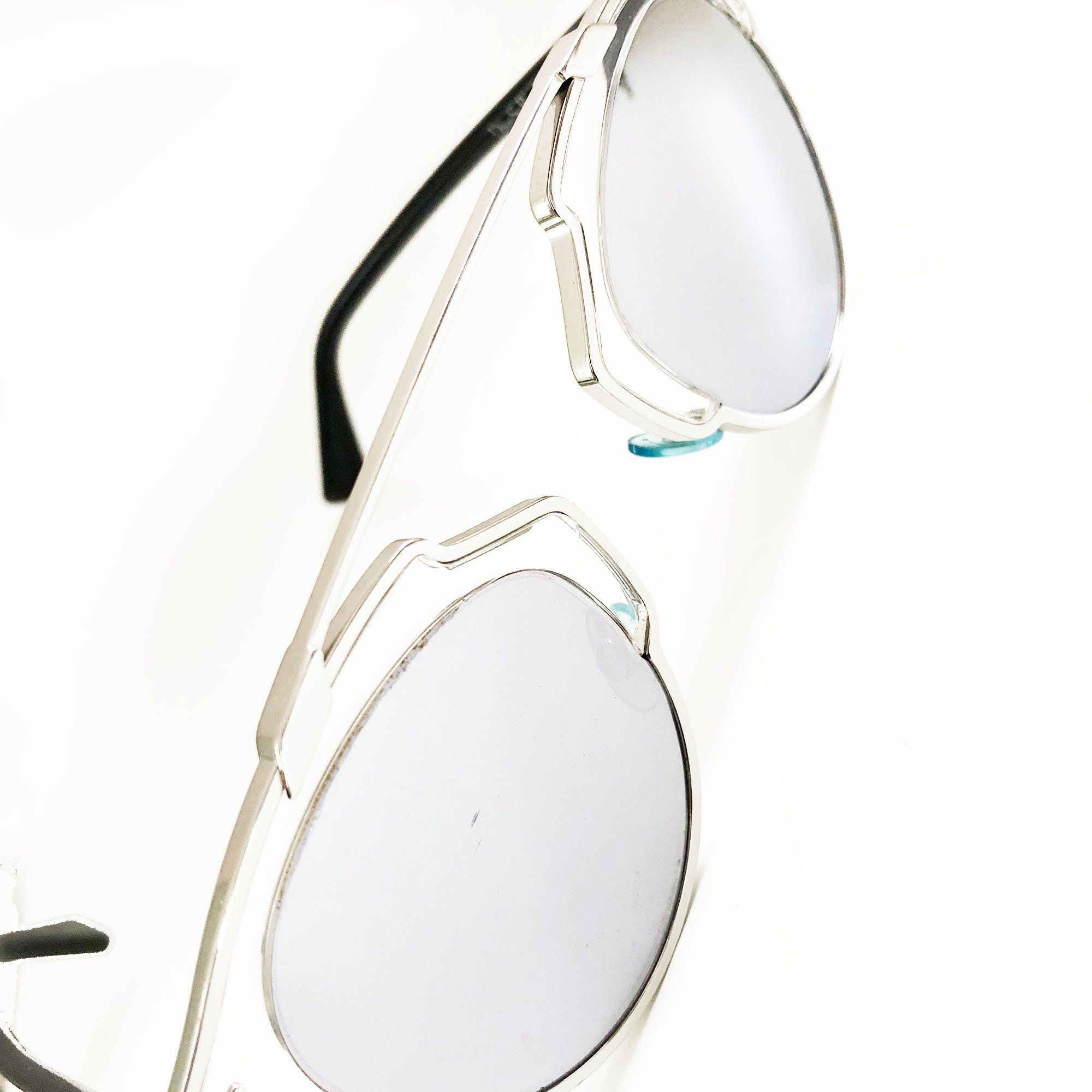 Christian Dior Silver So Real Pantos Sunglasses