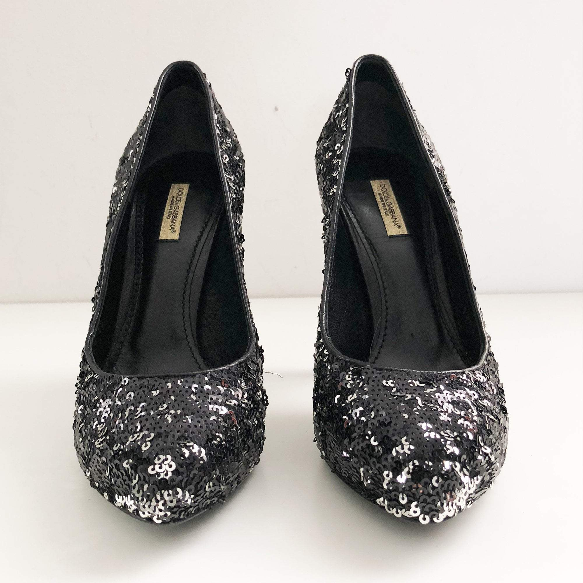 Dolce & Gabbana Sequin Pumps