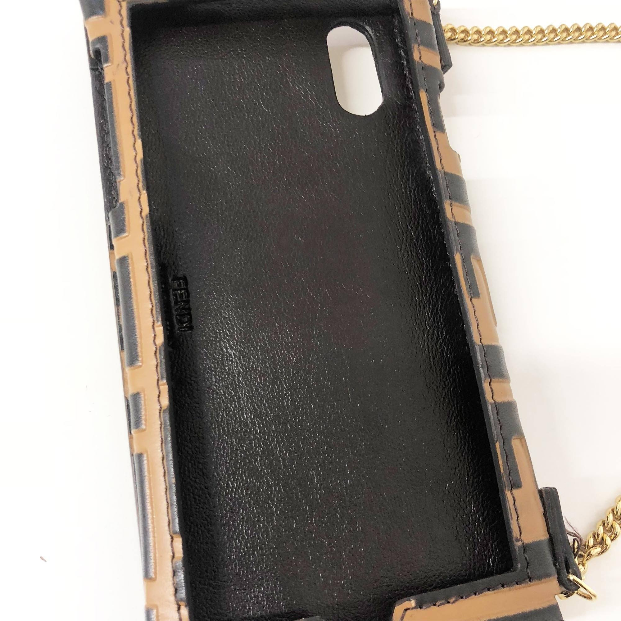 Fendi Chain iPhone X Case