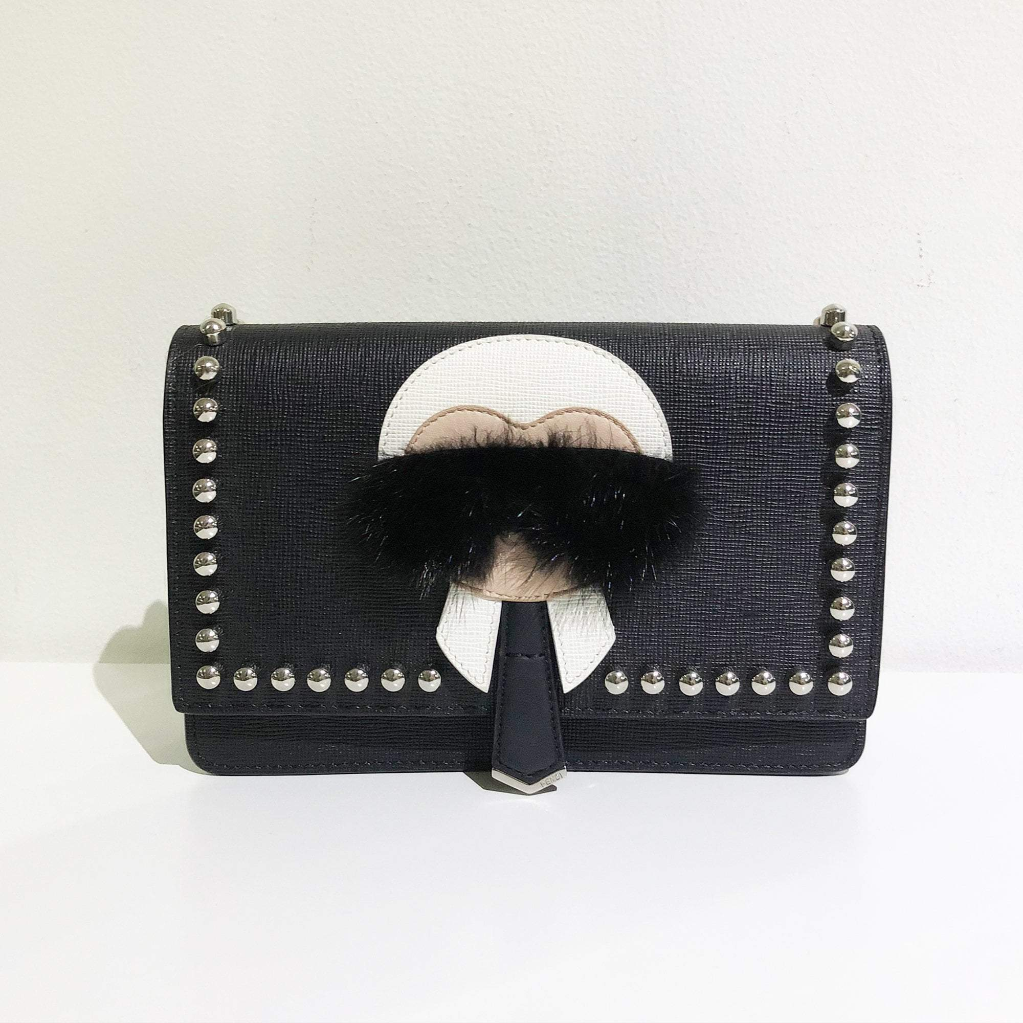 Karlito wallet - Black Fendi