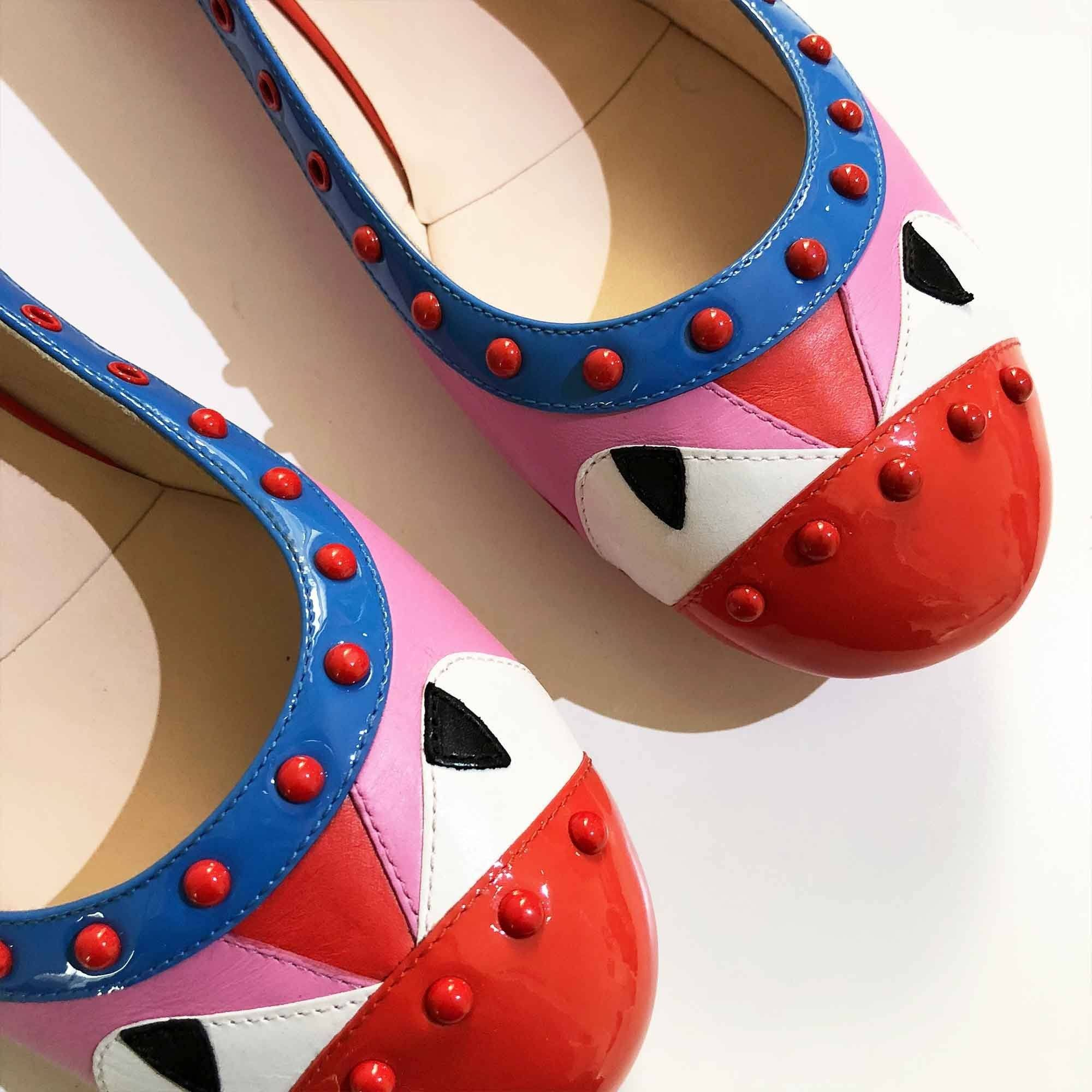 Fendi Monster Eye Ballerina