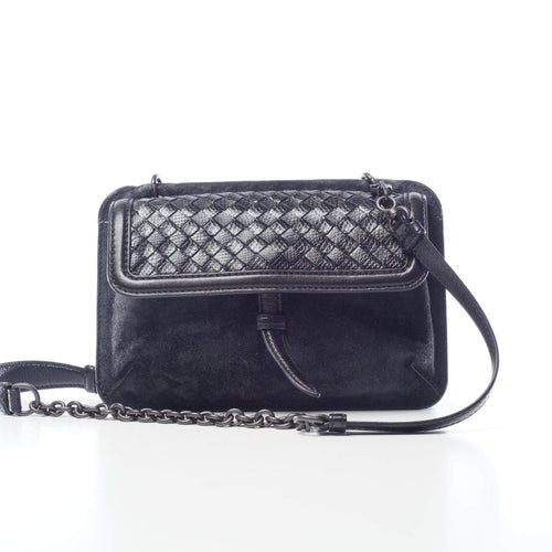 Bottega Veneta Navy Crossbody Bag