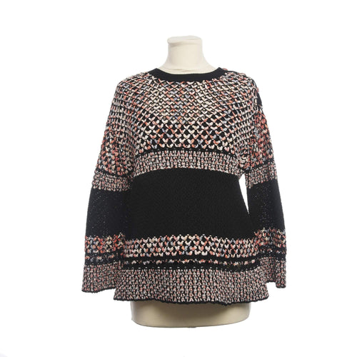 Chanel Multicolor Crochet Pullover Sweatshirt