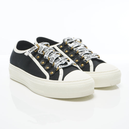 Dior Walk'N'Dior Low Top Black Sneakers