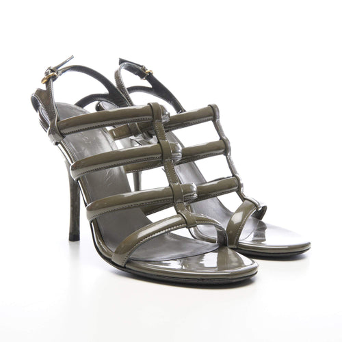 Gucci Patent Leather Strappy Heels