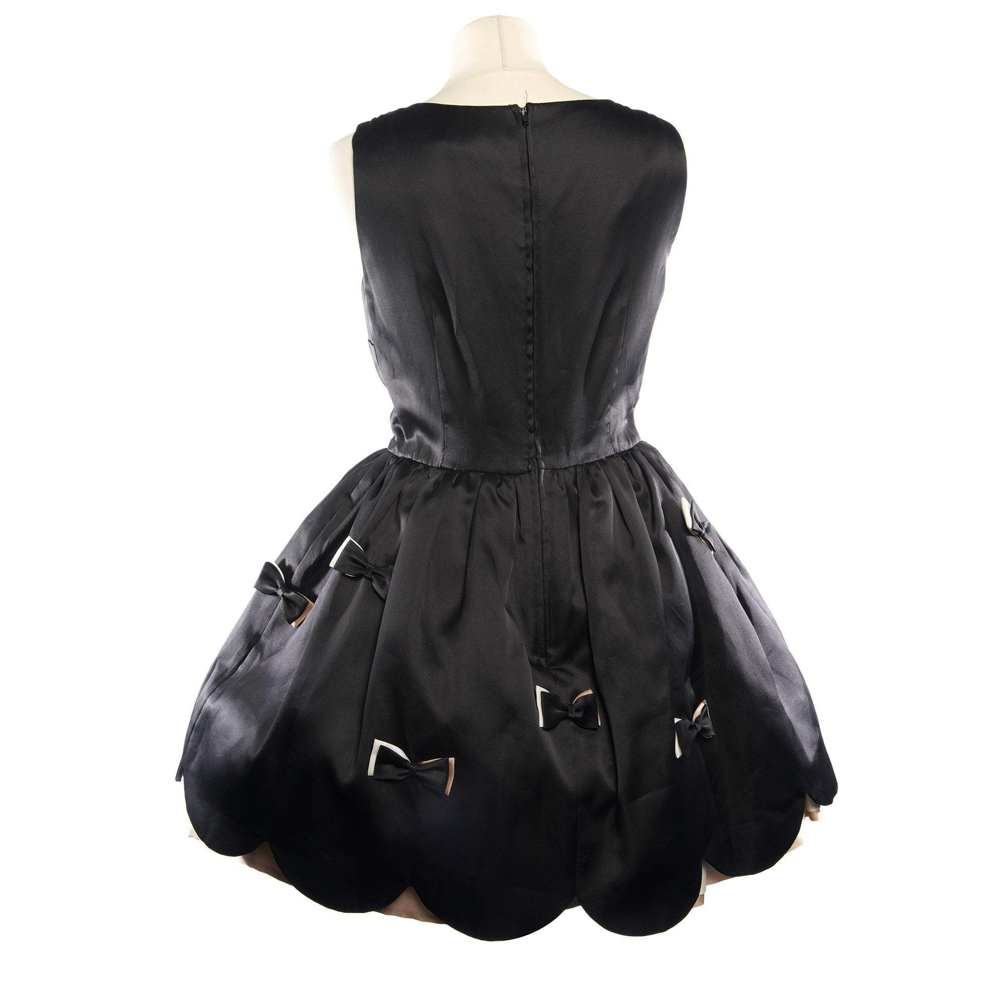 Red Valentino Black Dress with Bows