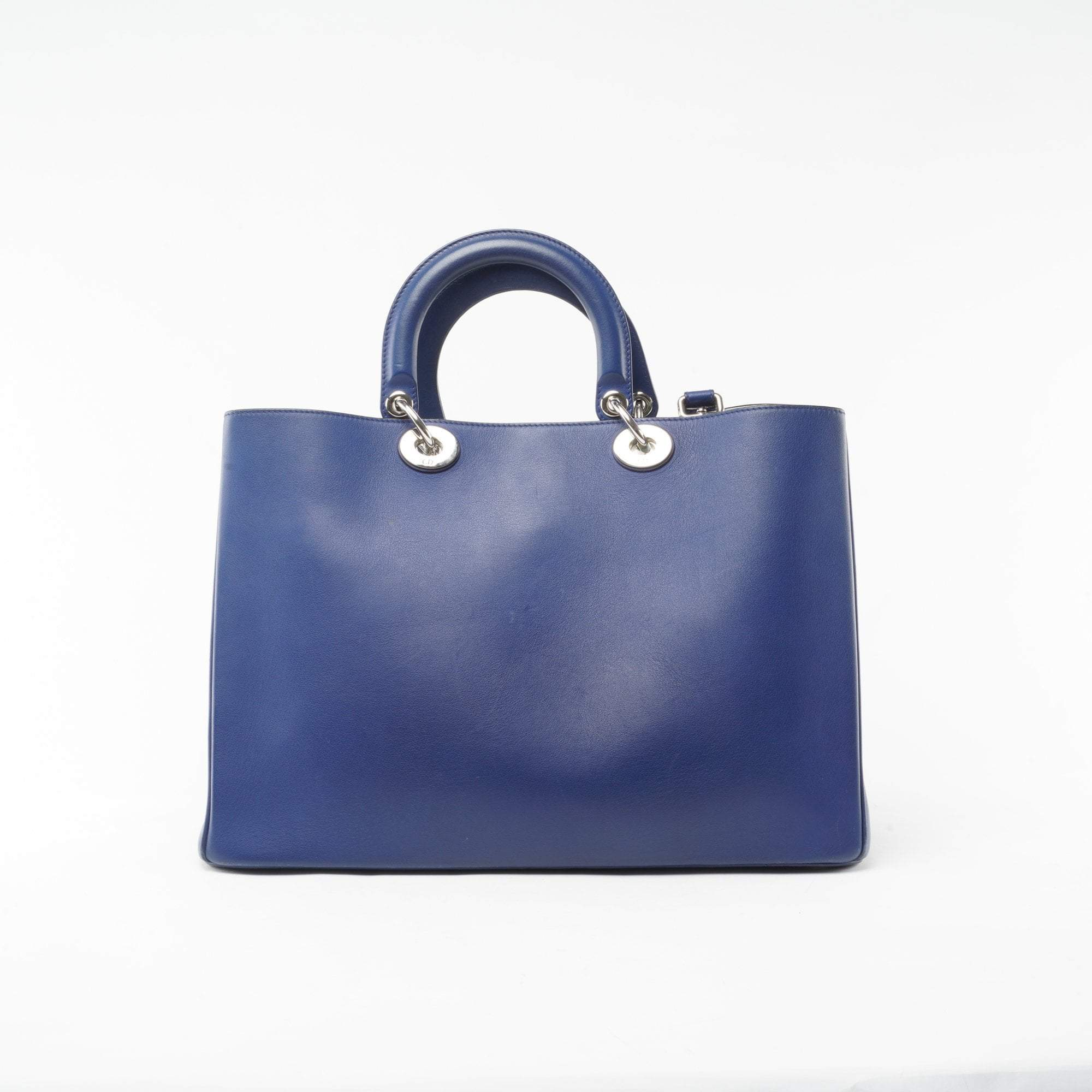 Christian Dior Large Blue Diorissimo Bag
