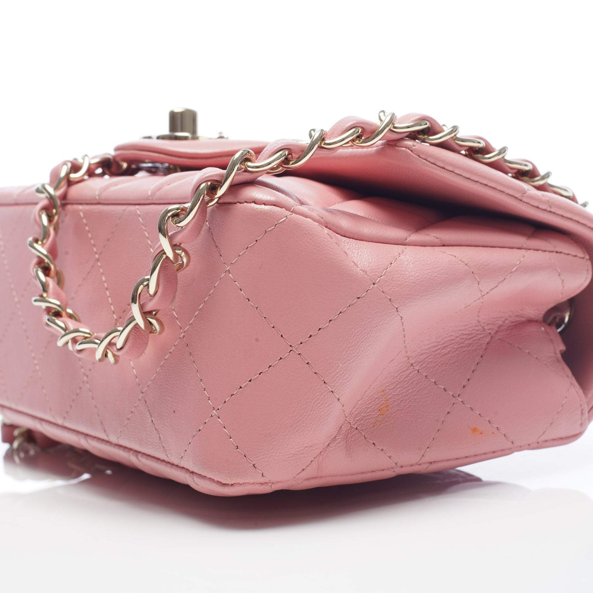 Chanel Lambskin Small Pink Flap Bag