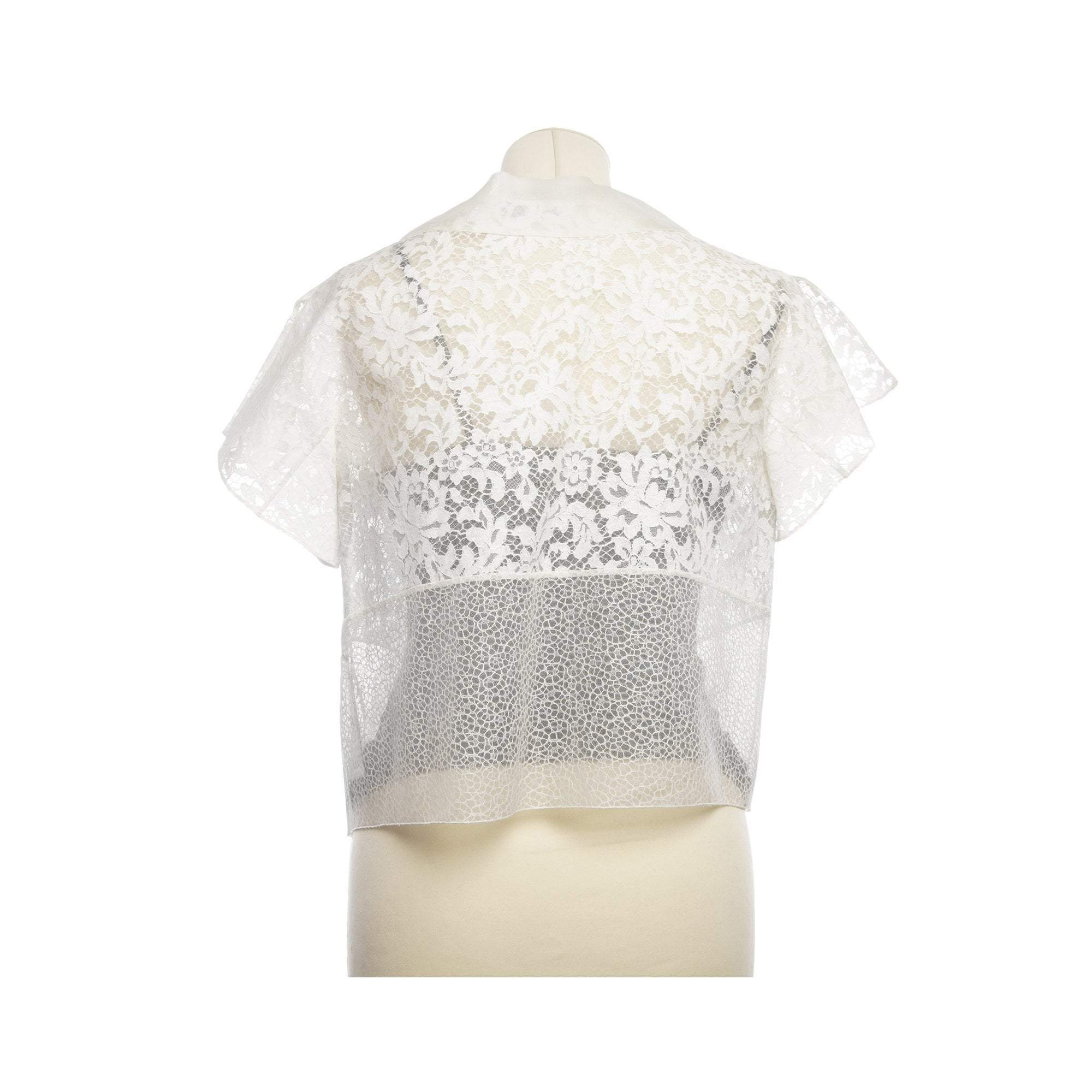 Christian Dior Lace Mesh Top