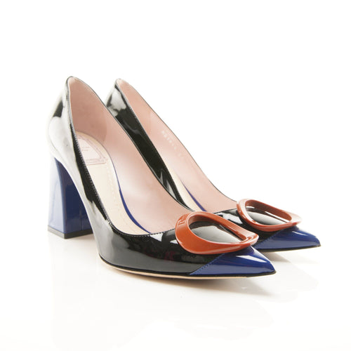 Christian Dior Tri-Colour Pumps
