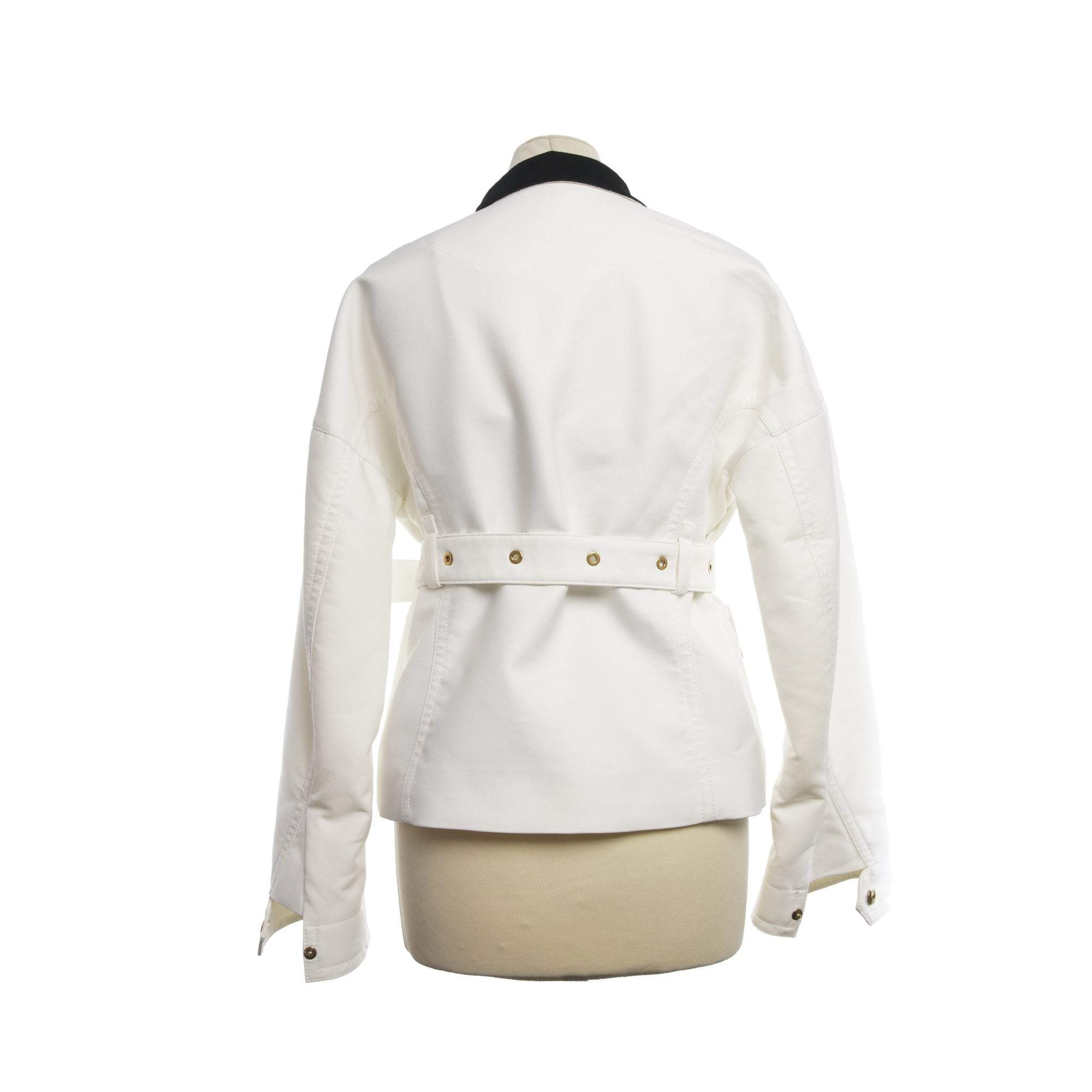 Louis Vuitton White Jacket w Gold Buttons