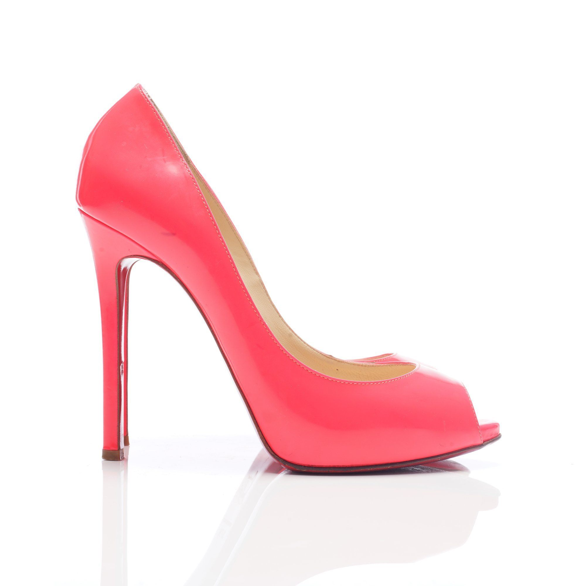 Christian Louboutin Flo Pumps in Rose Paris