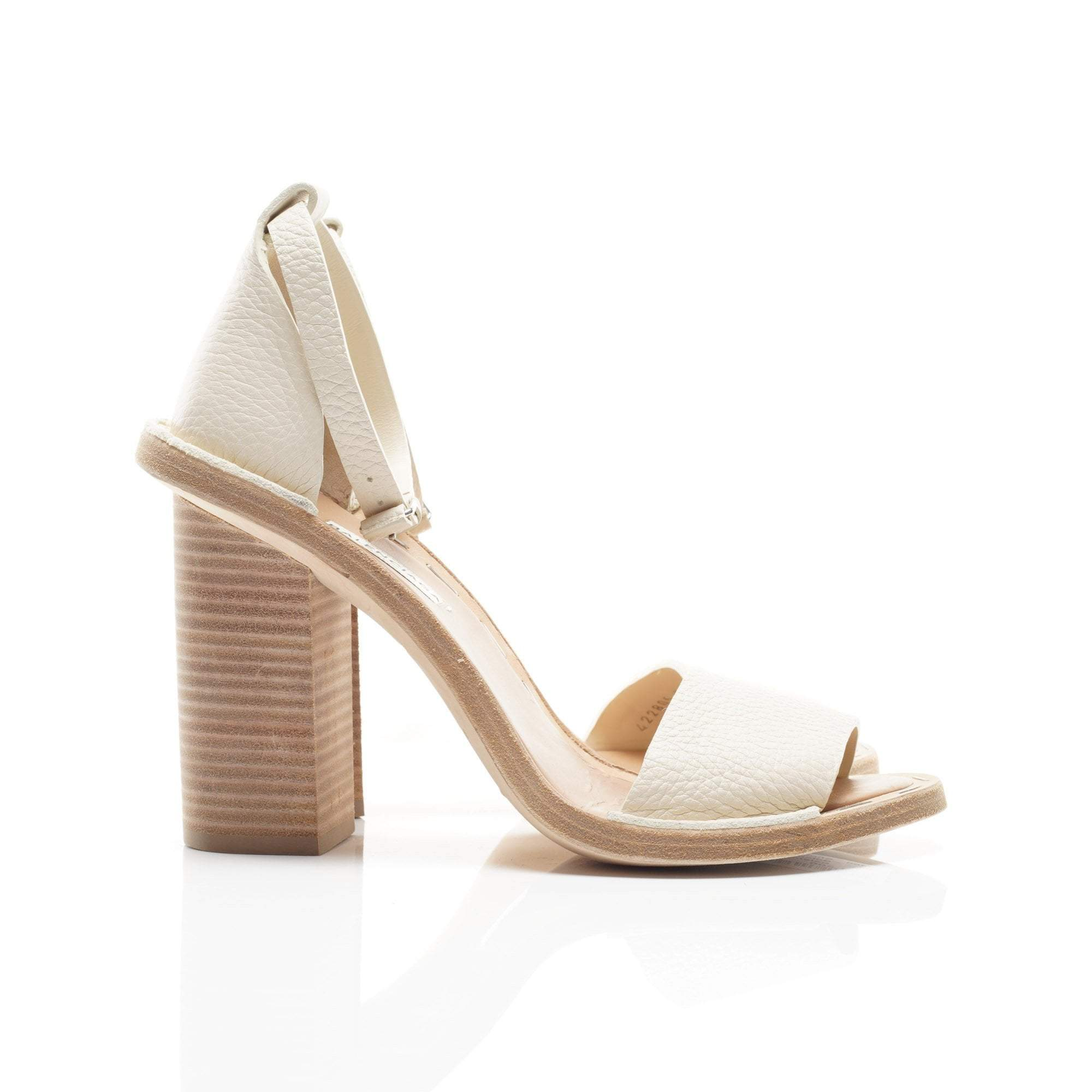 Balenciaga Wooden Heel Sandals