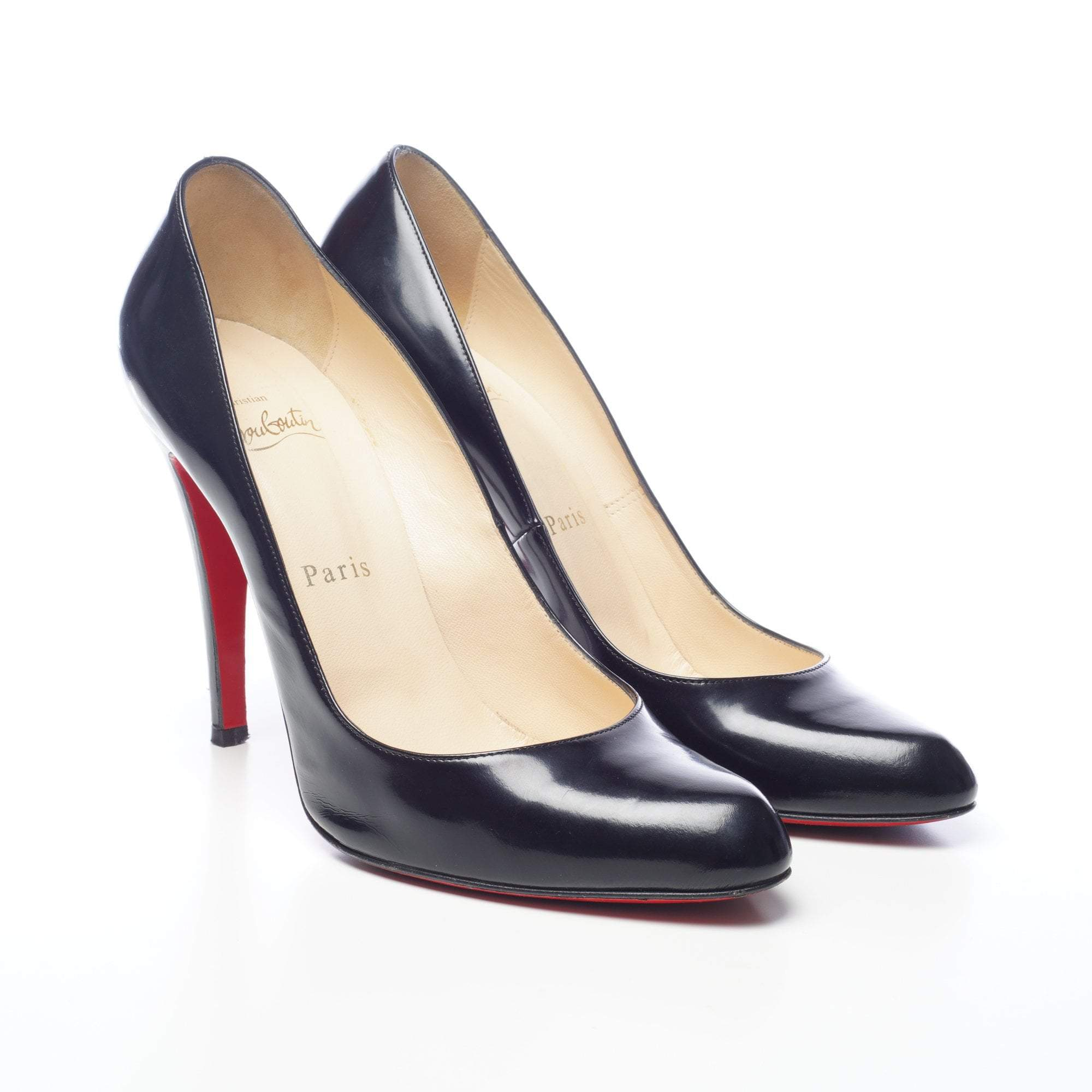 d6aeb8d273 Christian Louboutin Black Decollete 868 Jazz Calf Pumps – Garderobe