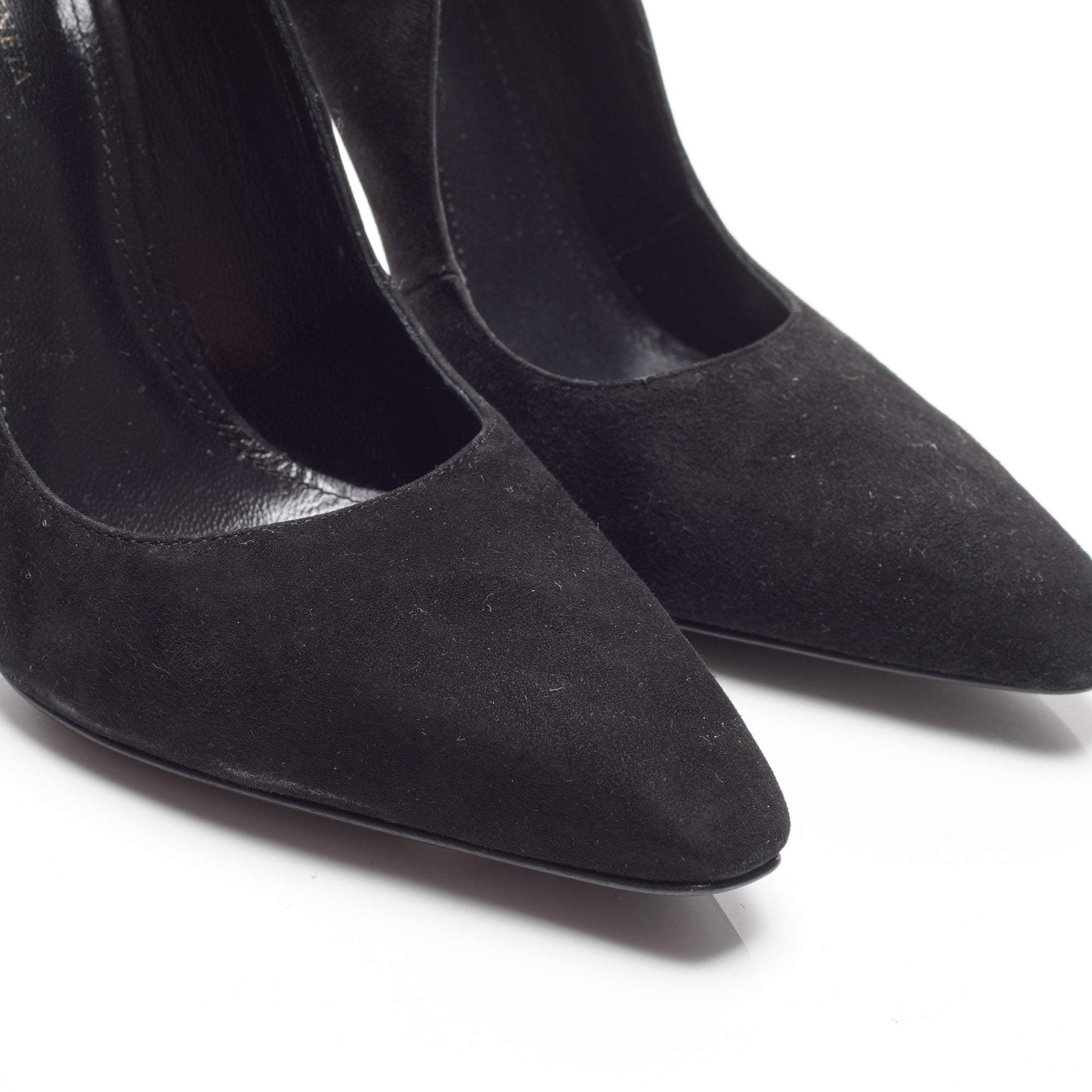 Bottega Veneta Cut Out Suede Pumps