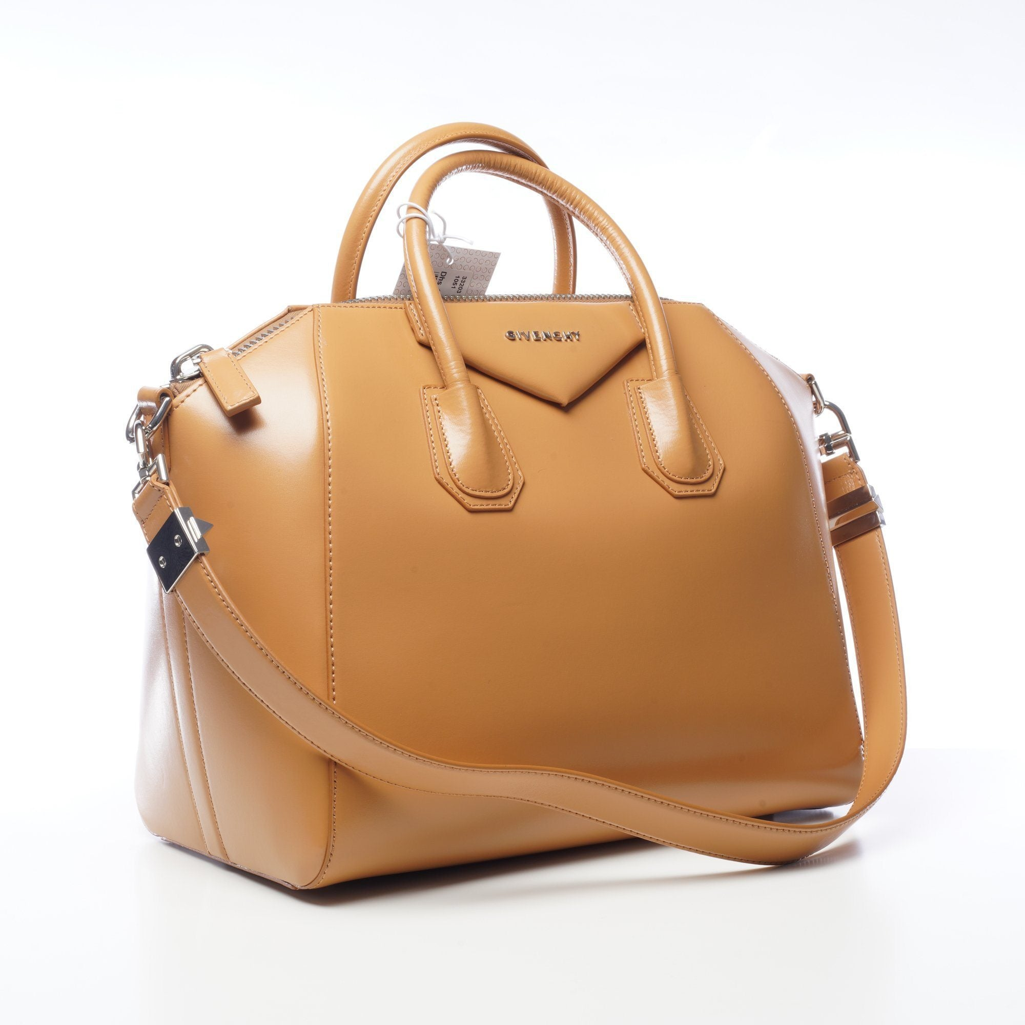 Givenchy Tan Leather Medium Antigona Satchel