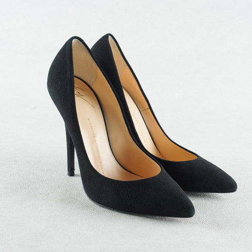 Giuseppe Zanotti Suede Pointed Toe Pumps