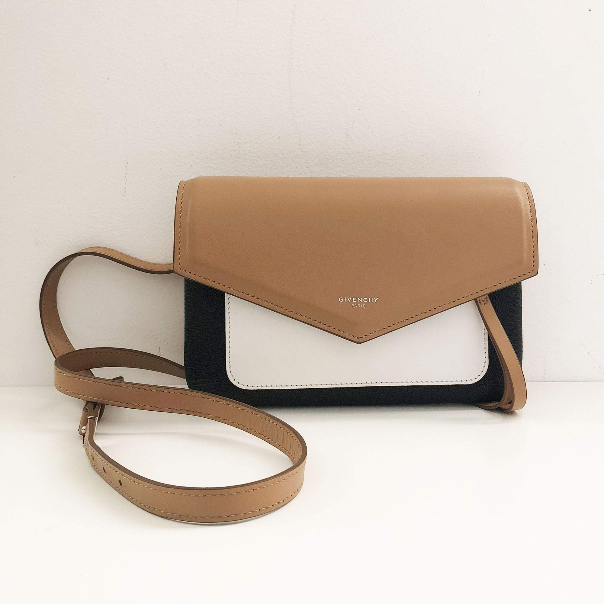 Givenchy Duetto Tricol leather cross-body bag