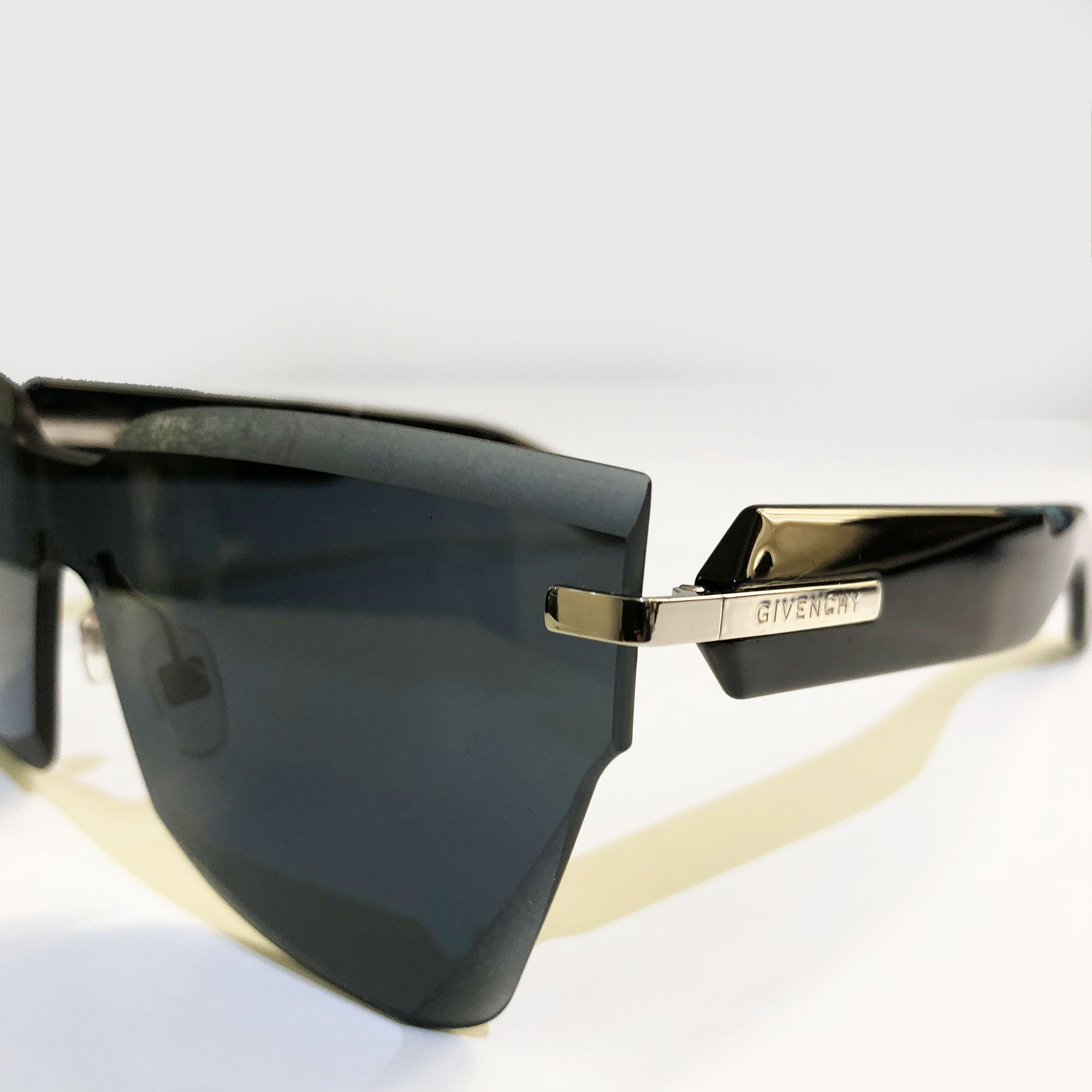 Givenchy Rimless Acetate Sunglasses