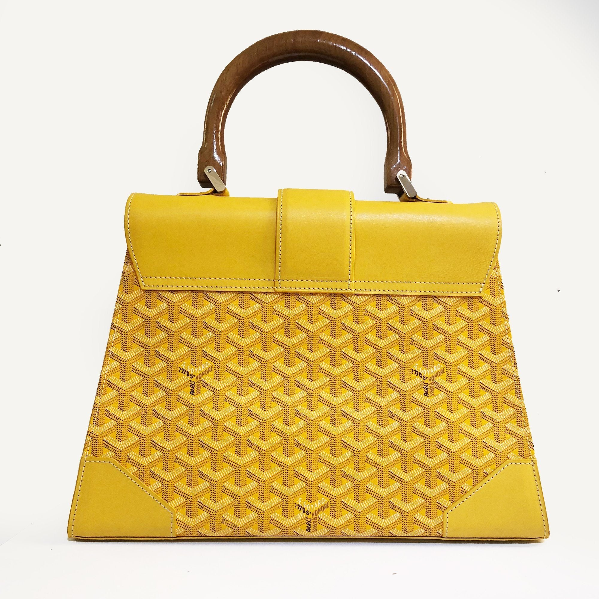 Goyard Yellow Saigon GM