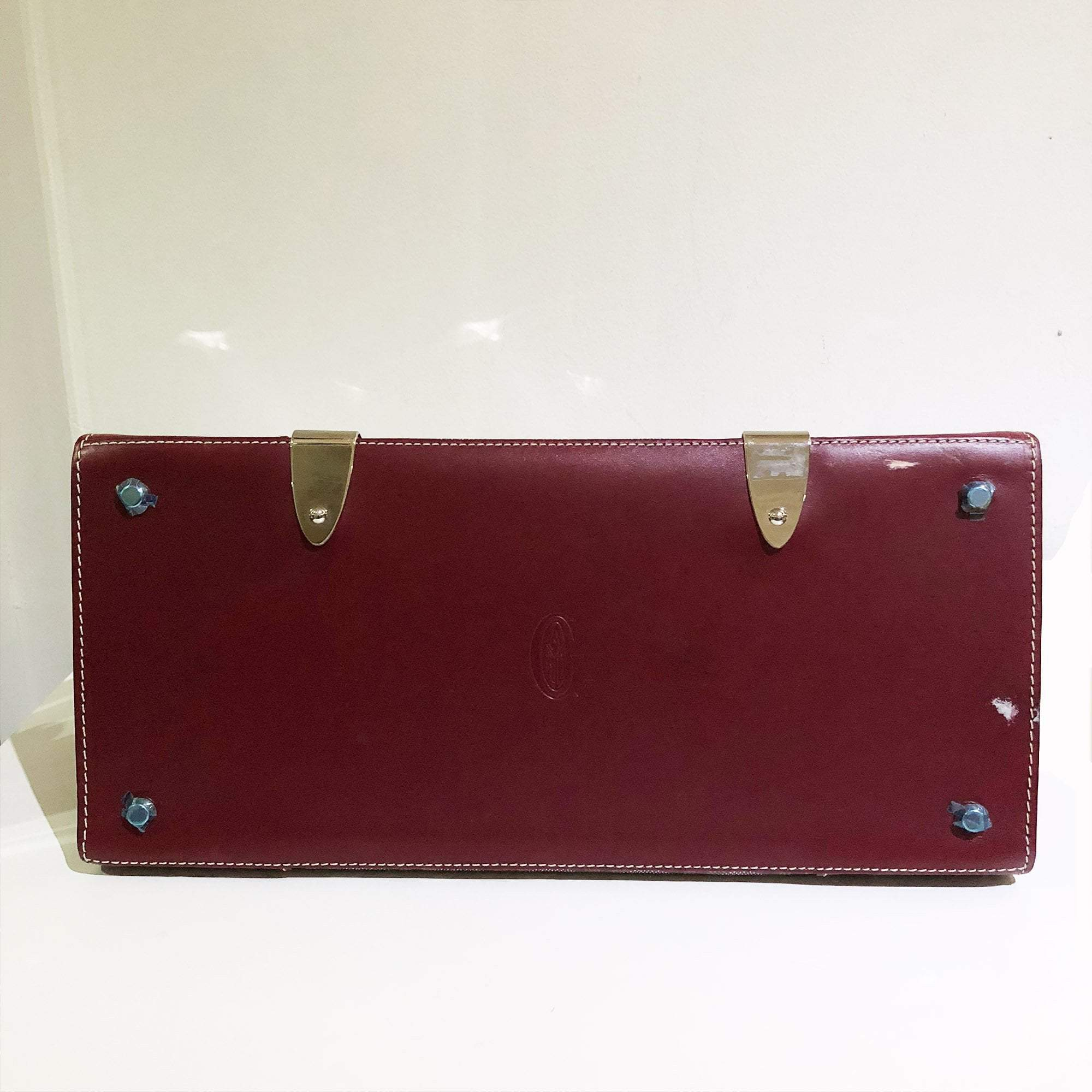 Goyard Burgundy Saigon GM