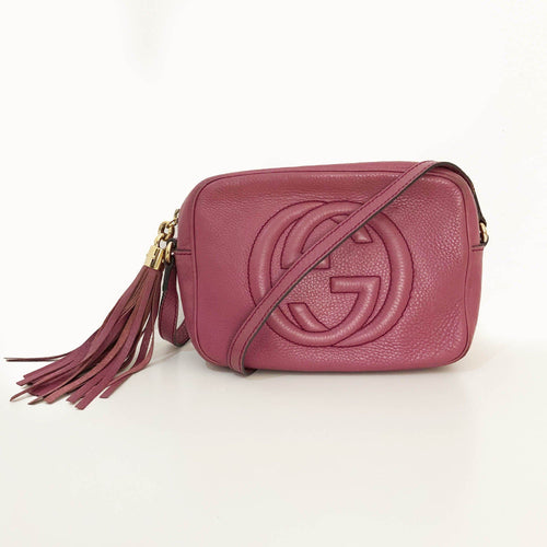 Gucci Lavender Soho Cross-Body Bag