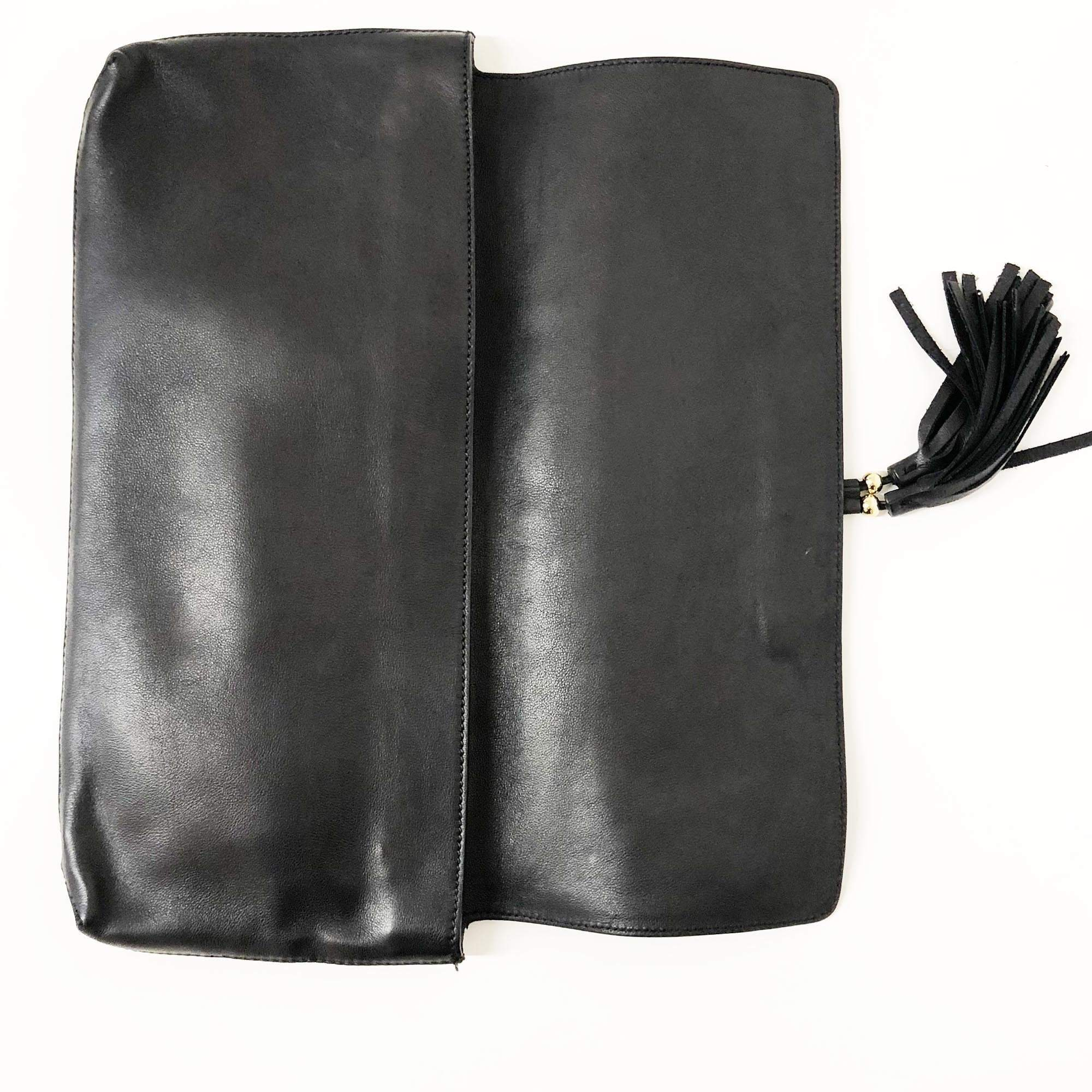 Gucci Horsebit Leather Clutch