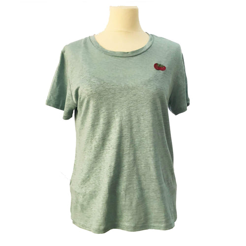 Gucci Sea-Green Cotton T-Shirt
