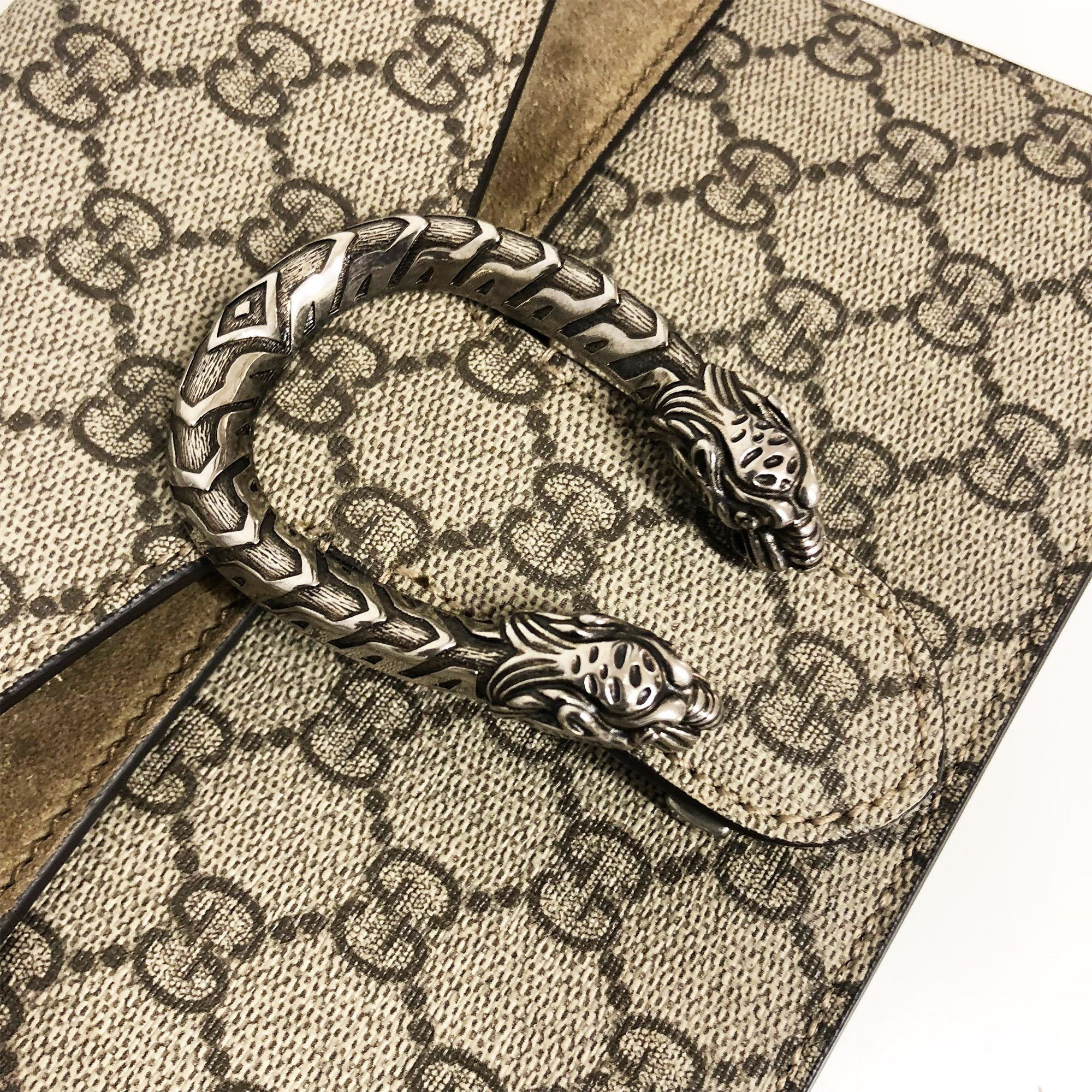 Gucci Small Dionysus Guccissima Bag