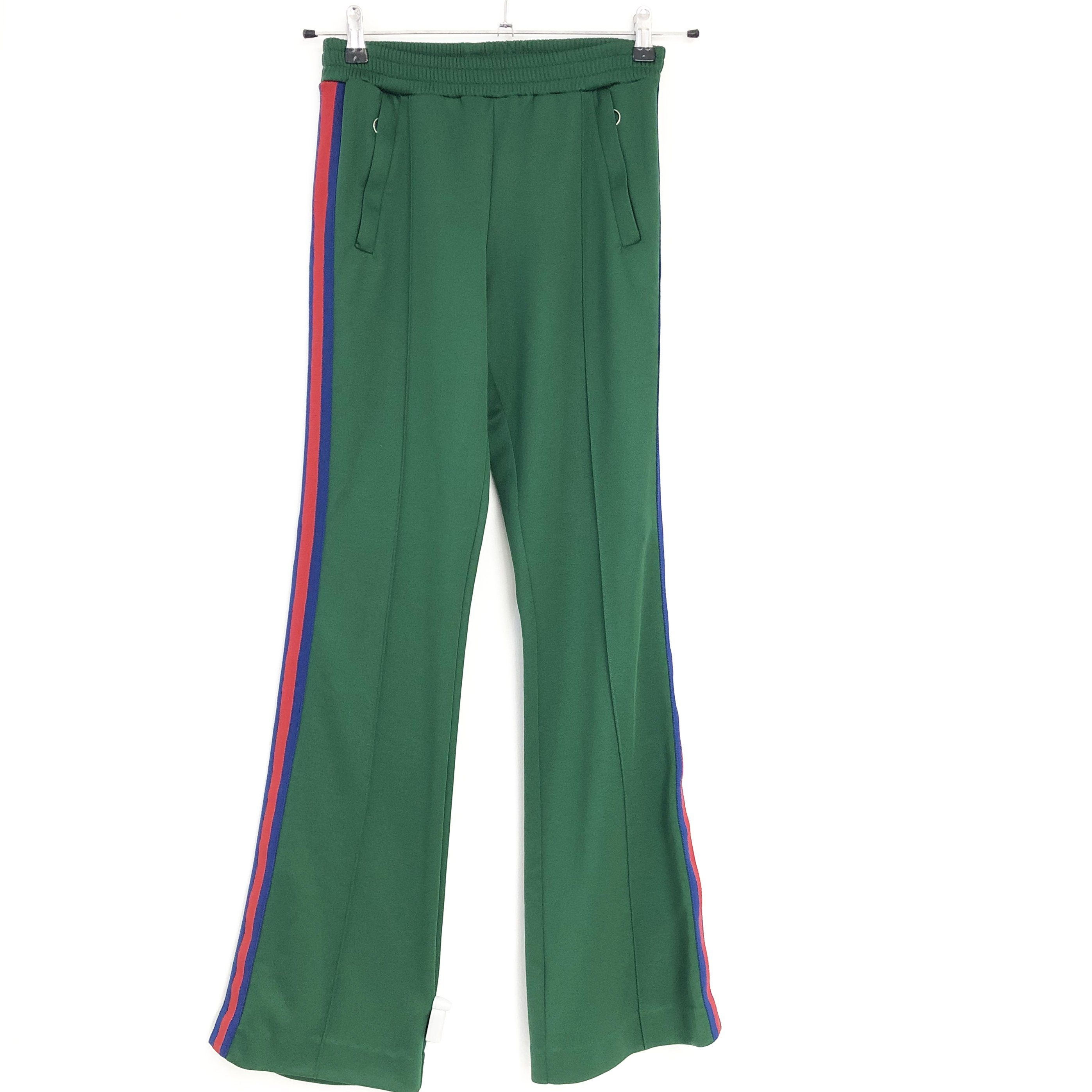Gucci Green House Web Track Pants